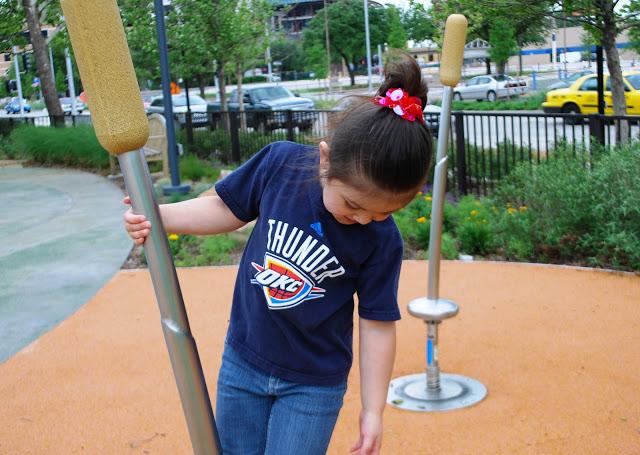 Myriad Gardens Children's Playground Oklahoma City