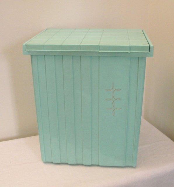 Turquoise Vintage Hamper