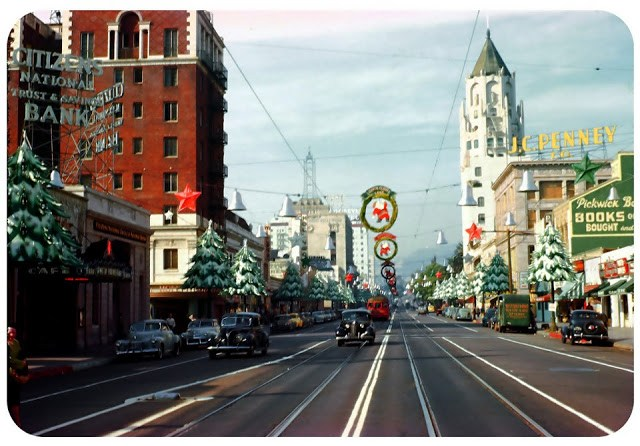 Vintage Los Angeles 1940s