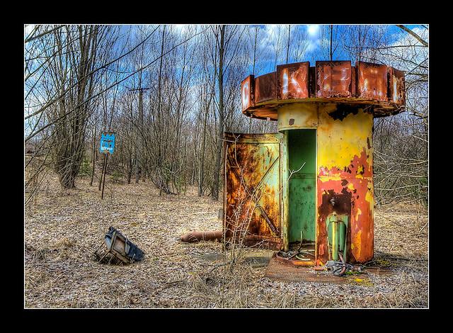 Chernobyl Accident: Pripyat port bus station