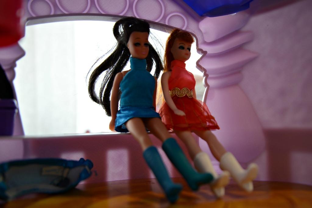 Topper Dawn Dolls Glori and Angie