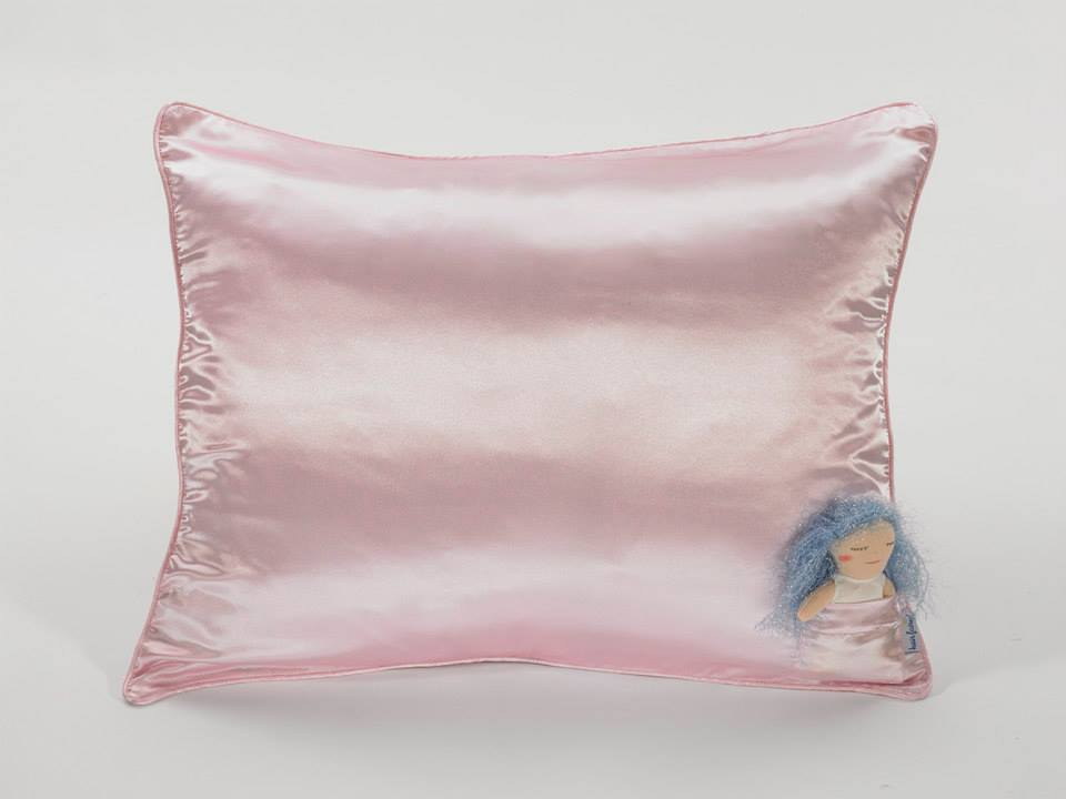 pink satin pillowcase hairy fairy