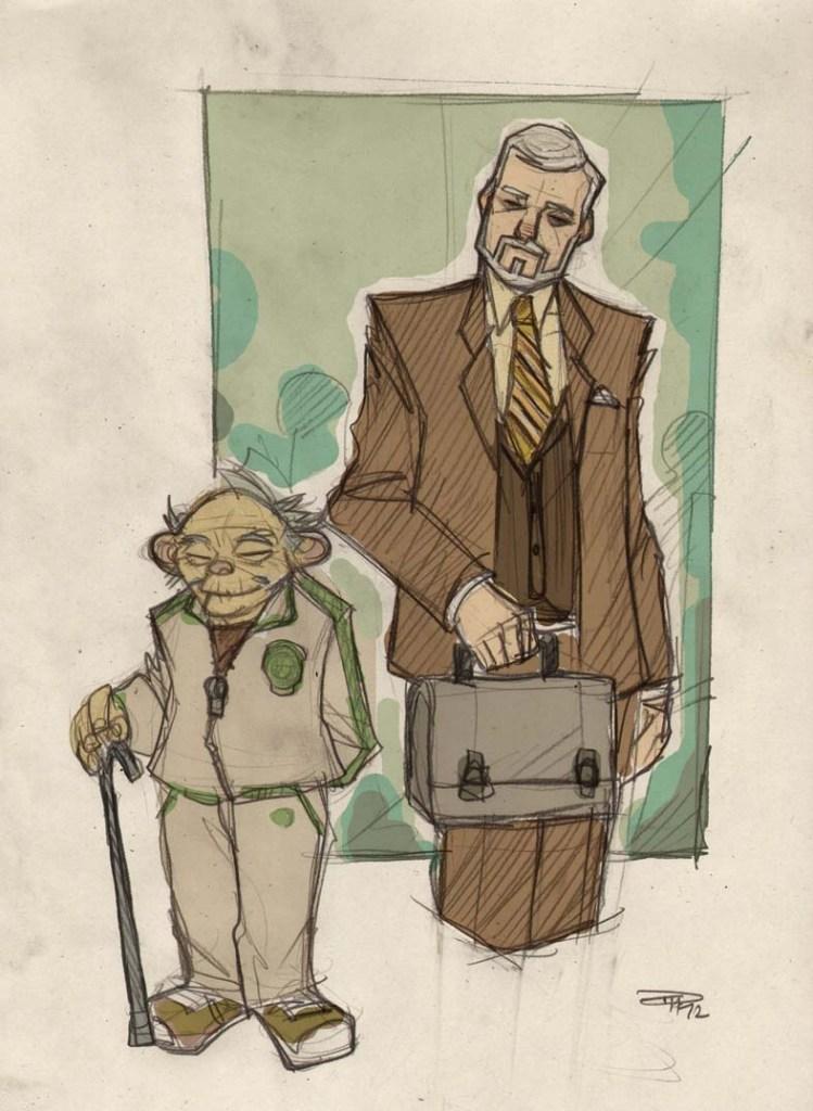Yoda Star Wars 80s High School