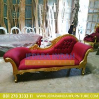Harga Jual Sofa Single Louis Gold