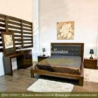 Harga Jual Set Tempat Tidur Minimalis Jati