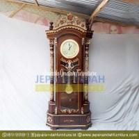 Pusat Jual Almari Jam Hias Rahwana Ukir Cantik (LRF LJH 020)