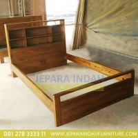 BRF TTA 005 Tempat Tidur Raisa Untuk Anak Kayu Jati Minimalis