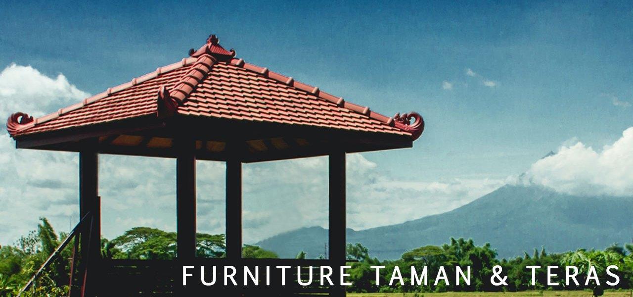 Katalog Furniture Taman dan Teras