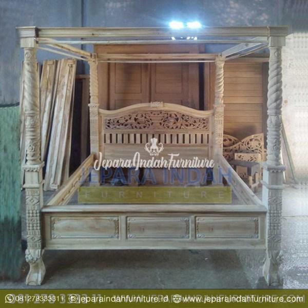 BRF DTT 014 Ranjang Kamar Tidur Rahwana Kanopi Harga Murah
