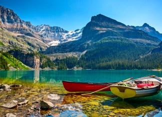 Lake OHara boats