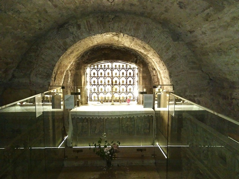 crypte basilique saint maximin