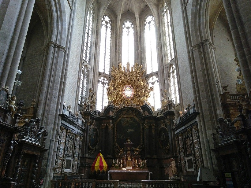 retable basilique sainte-marie-madeleine saint maximin