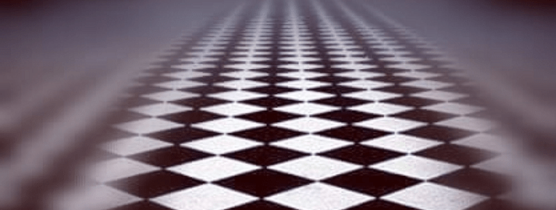 pavé mosaïque : planche d'apprenti