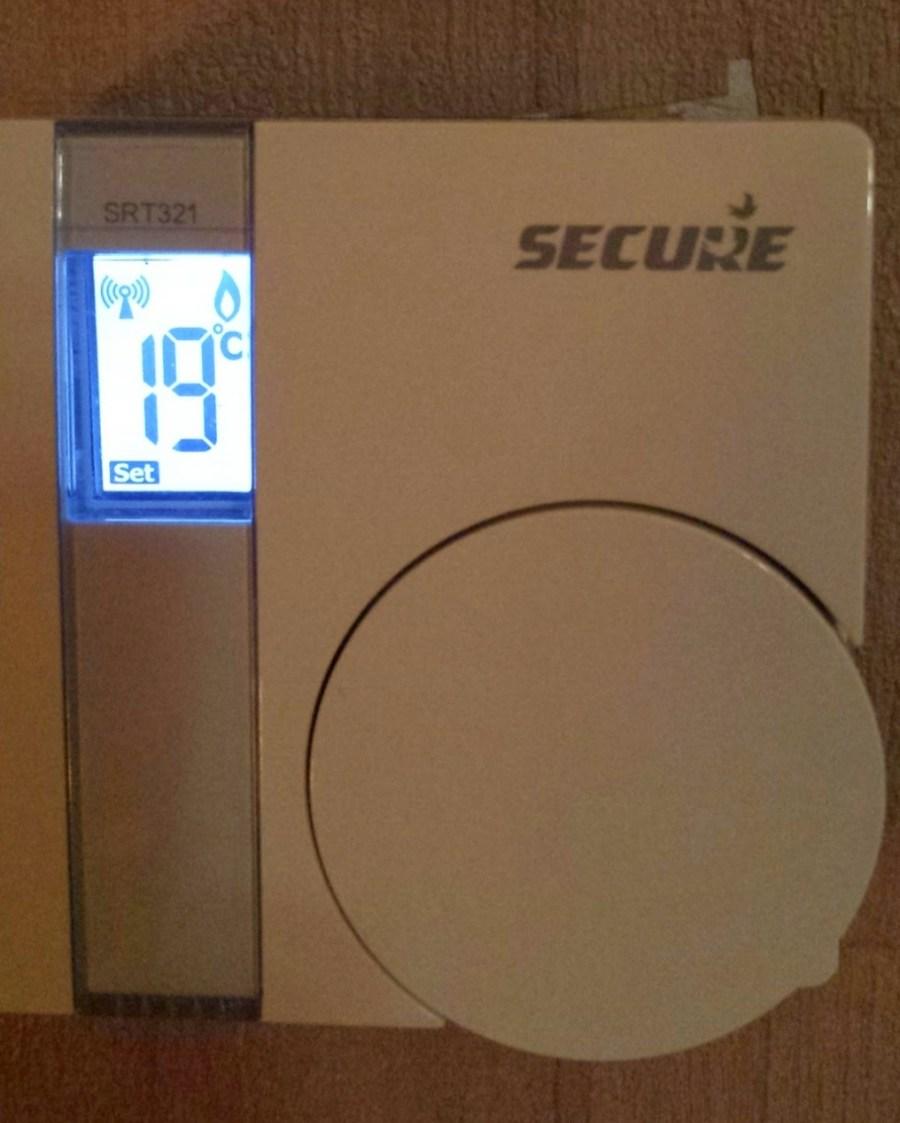 Thermostat SECURE Z-Wave