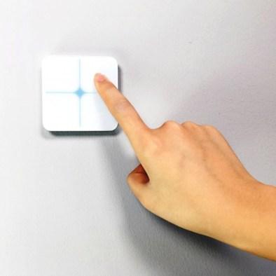 un interrupteur 4 boutons