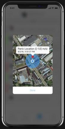 App AJAX - géolocalisation