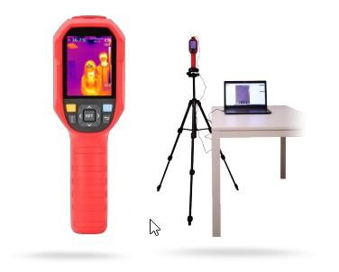 Caméra portative thermographique