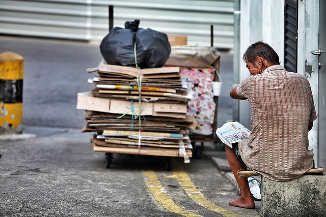 Image result for singapore cardboard collectors