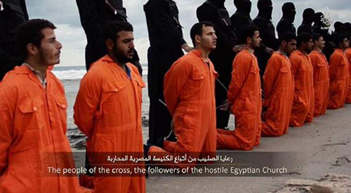beheading Christians