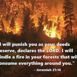 Jeremiah 21:14