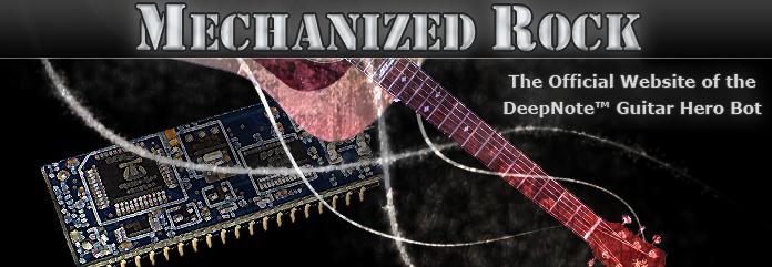 DeepNote Website - MechanizedRock.com