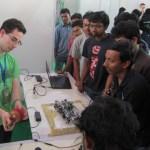 Presenting at Techkriti '13
