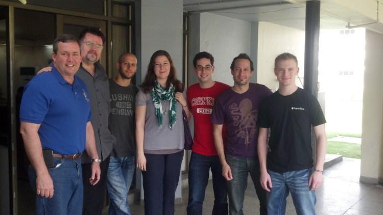 Me with fellow Techkriti Guests