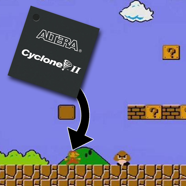 FPGA AI for Super Mario Bros  | JeremyBlum com