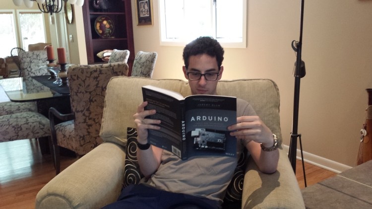 "Reading ""Exploring Arduino"""
