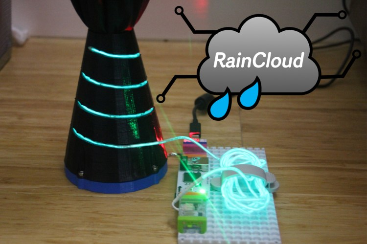 RainCloud Smart Umbrella Holder