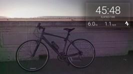 Biking to Ocean Beach with the Strava Biking App