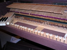Some of the Wurlitzer 112 keys were sluggish so I pulled them all to ease them, straighten and pivot the pins where necessary, vaccuum, etc.