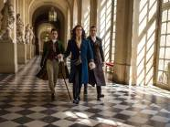 (L-R) Ben Lloyd-Hughes as Lintillac_Pierce Brosnan as King Louis XIV & Pablo Schreiber as Dr. Labarthe in THE MOON AND THE SUN (PRNewsFoto/The Moon and the Sun)
