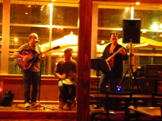 At West End Ale Haus with Negodniki (blues/jazz/fusion)