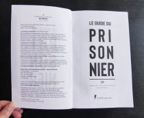 Mise en page du Guide du Prisonnier pour l'Observatoire International des Prisons (en collaboration avec Claire Béjat)