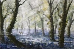"""Roe, Hooke Woods 16x11"""" £820"""
