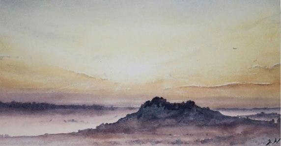 "Sunset NFD Kenya £620 13""x 7"""