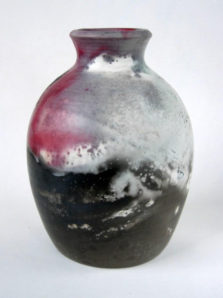 Sawdust fired bottle