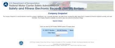 FMCSA's Mission, and the Purposes of SAFER, CSA, and SMS ...
