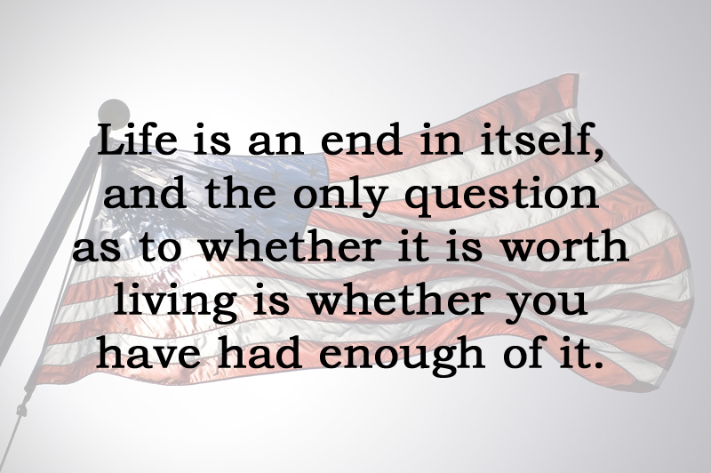 [No.26] Oliver Wendell Holmes on Living
