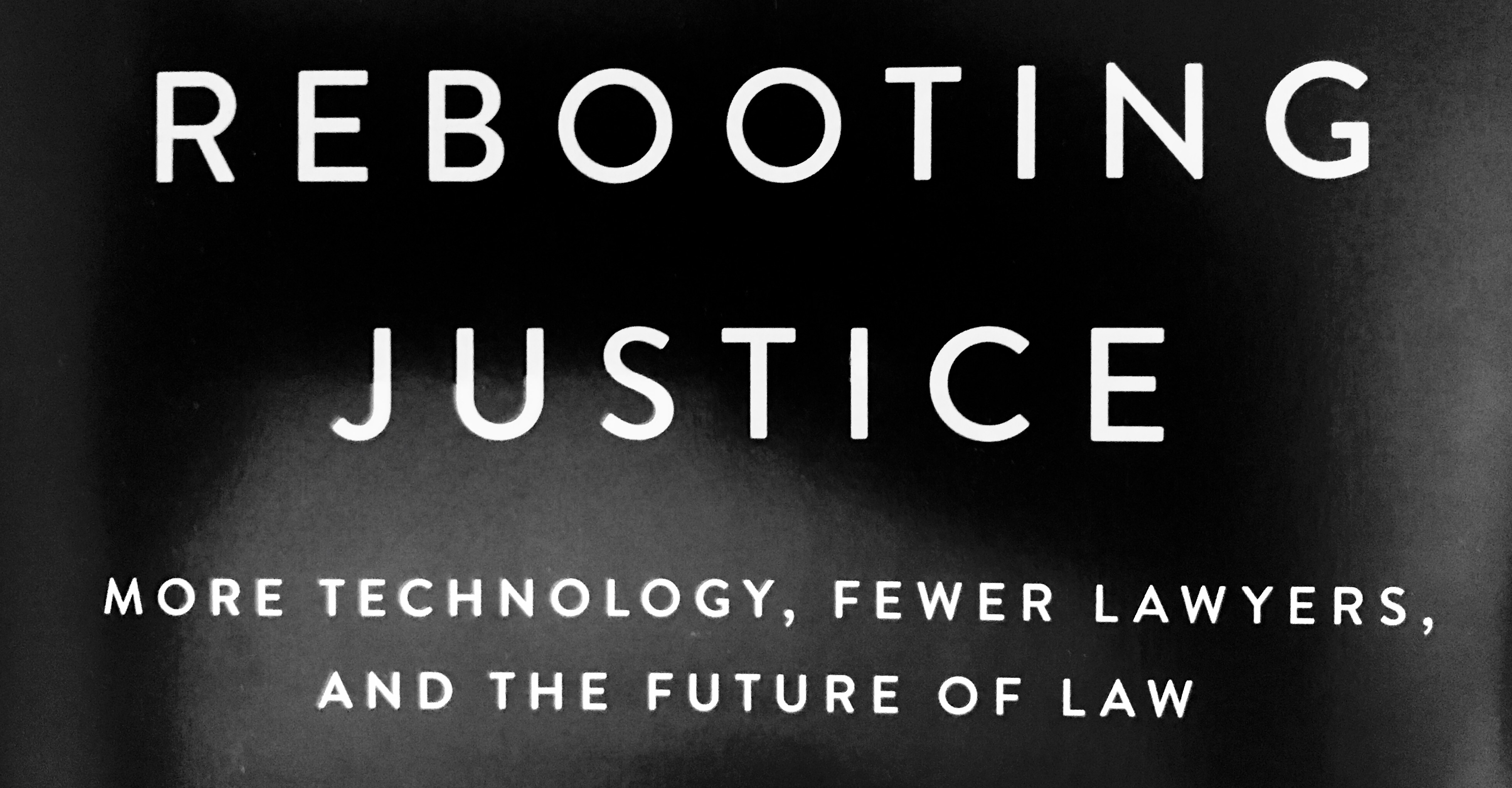 """Rebooting Justice"" Endeavors to Improve the Legal System"
