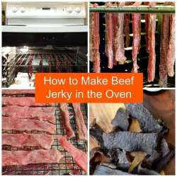 How to make Beef Jerky in the Oven