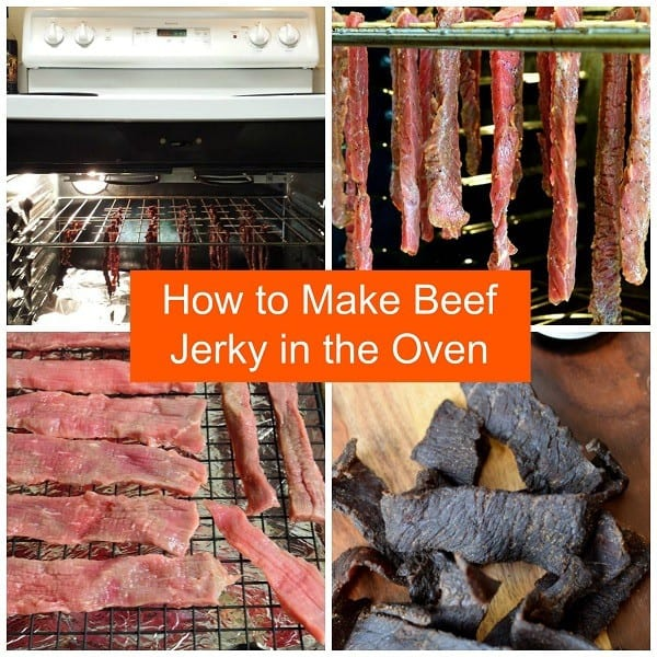 how to make jerky using oven