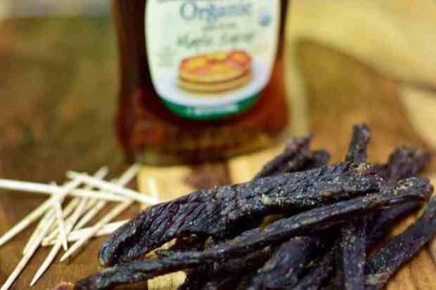 Pure Maple Syrup Jerky Finished