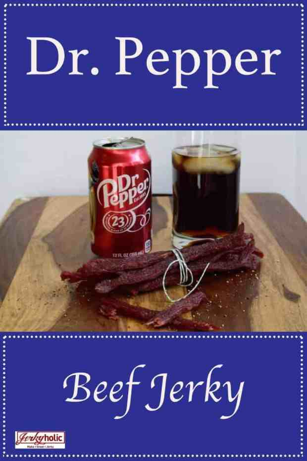 Need a little Dr. Pepper in your life? This jerky combines great jerky with a great soda, what else could you want?