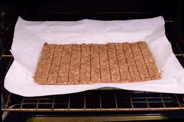 Ground Beef Jerky in Oven