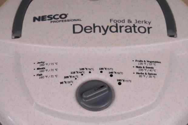 Nesco Dehydrator Controls