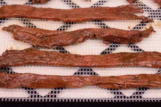 Balsamic Vinegar on Dehydrator Trays