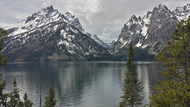 Jenny Lake Tetons in May