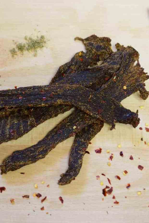 A breakfast sausage flavored beef jerky, what's not to love?! | Jerkyholic.com